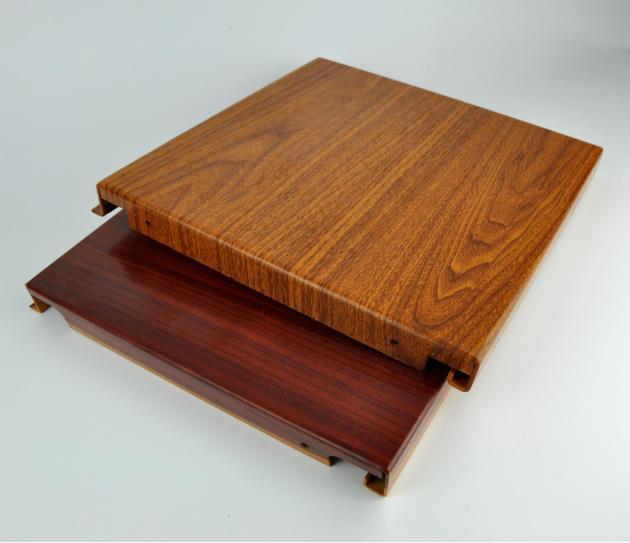 铝板木纹喷涂产品的工艺变迁